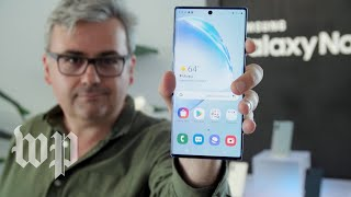 What does Samsung's big, new Galaxy Note10 add — and take away?