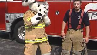 Fire Fighter Gear with Sparky the Fire Dog