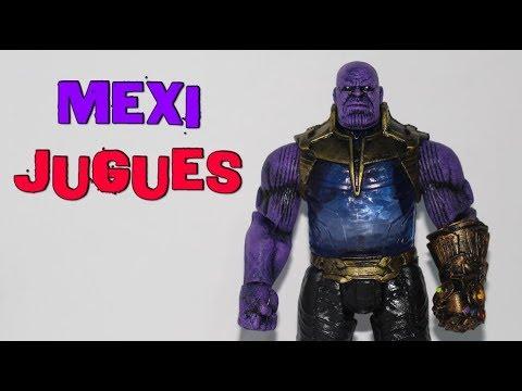 Thanos Figura Mexicana Titan Heroes Bootleg  - MexiJugues