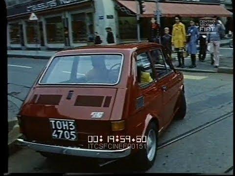 La 126: perché (FIAT 126 - Giacosa - Issigonis) \ 1972 \ ita