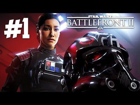 STAR WARS BATTLEFRONT 2 Campaign Gameplay Walkthrough, Part 1! (Star Wars Battlefront 2 Gameplay)