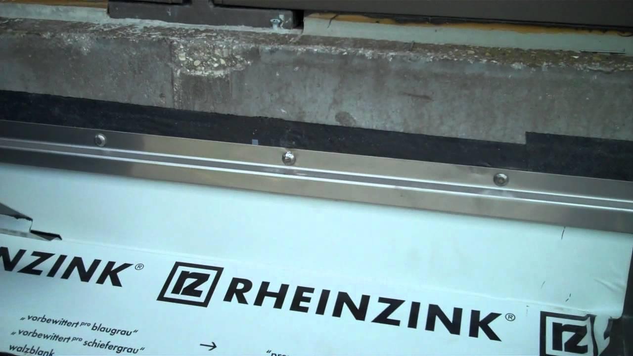 Rheinzink Metal Roof In Miami Beach Fl Flashing Details