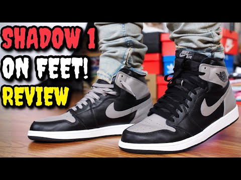 SHADOW AIR JORDAN 1 2018 ON FEET REVIEW! & 2013 VS 2018 COMPARISON!