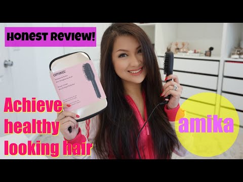 AMIKA| Polished Perfection Mini Straightening Brush | Review