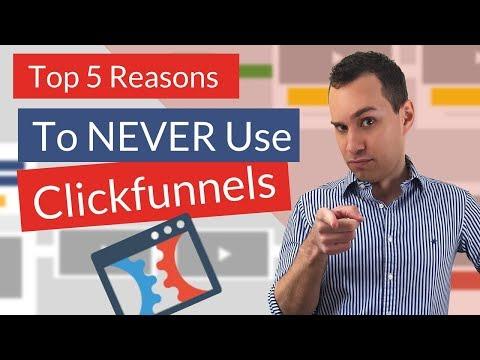 ClickFunnels Review Video Alert| Don't Buy ClickFunnels- Top 5 Reasons