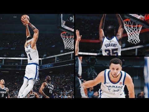 Golden State Warriors vs Sacramento Kings Game Highlights / Feb 2 / 2017-18 NBA Season