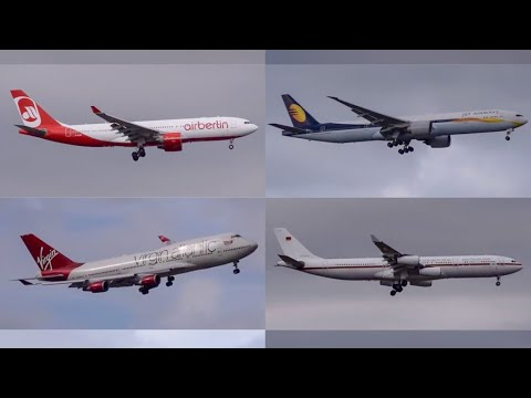 Plane Spotting at John F Kennedy International Airport New York