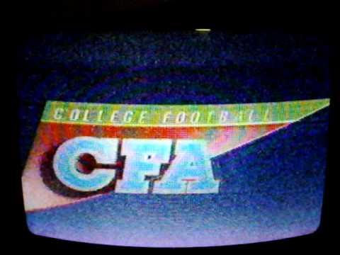 WKBW id- CFA football open with sponsors 1985.AVI