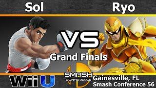 Noble Sol (Little Mac) vs. MVG Ryo (Roy, Falcon, & Ike) - Grand Finals - SC56