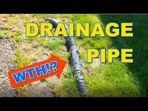 What Happens When You Bury Yard Drainage Pipe Too Shallow?