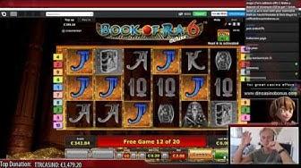 BIG WIN - Book of ra 6 deluxe (Novomatic)