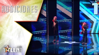 Cuando el rap se lleva en los genes | Audiciones 6 | Got Talent España 2017