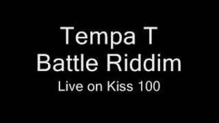 Tempa T Battle Riddim live on Logan Sama Show