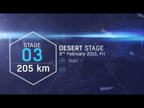 Dubai Tour 2015 - The 3rd Route Stage