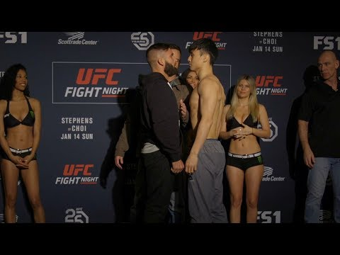 Fight Night St. Louis : Weigh-in Faceoffs