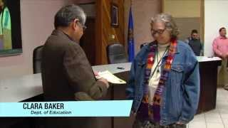 Cheyenne and Arapaho Tribes EMPLOYEES OF MONTH  FEB 2014
