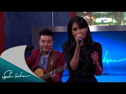 Maudy Ayunda feat. David Choi - By My Side - Performance Sarah Sechan NET.