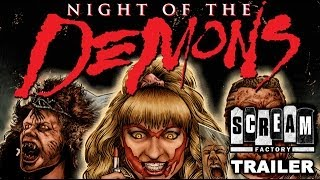 Theatrical Trailer - Night of the Demons (1988)