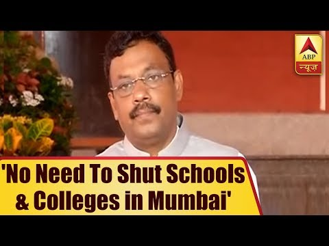 Mumbai Cripples; Education Minister Tawde Says `No Need To Shut Schools & Colleges`