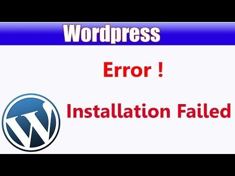 download wordpress installation package