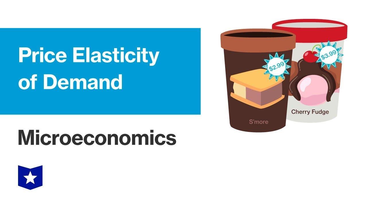 Price Elasticity Of Demand Course Hero