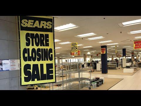 Store Closing: The Final Night of Sears & Roebuck at Paramus Park Mall Paramus, New Jersey