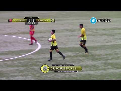 Goles - Independiente de Cauquenes vs Lautaro de Buin - Segunda División