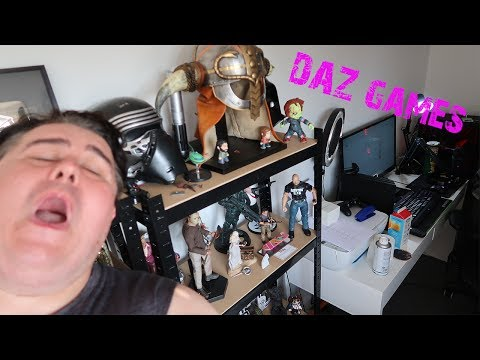 Daz Games Gaming Room Tour