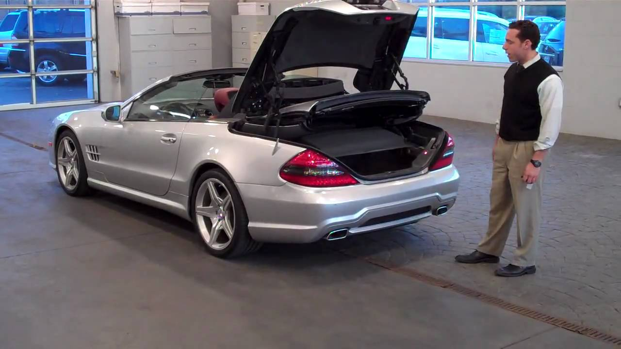 2009 mercedes benz sl550 silver arrow youtube for Mercedes benz sl550 for sale