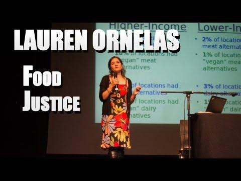 Lauren Ornelas: Food Justice, IARC 2013 in Luxembourg