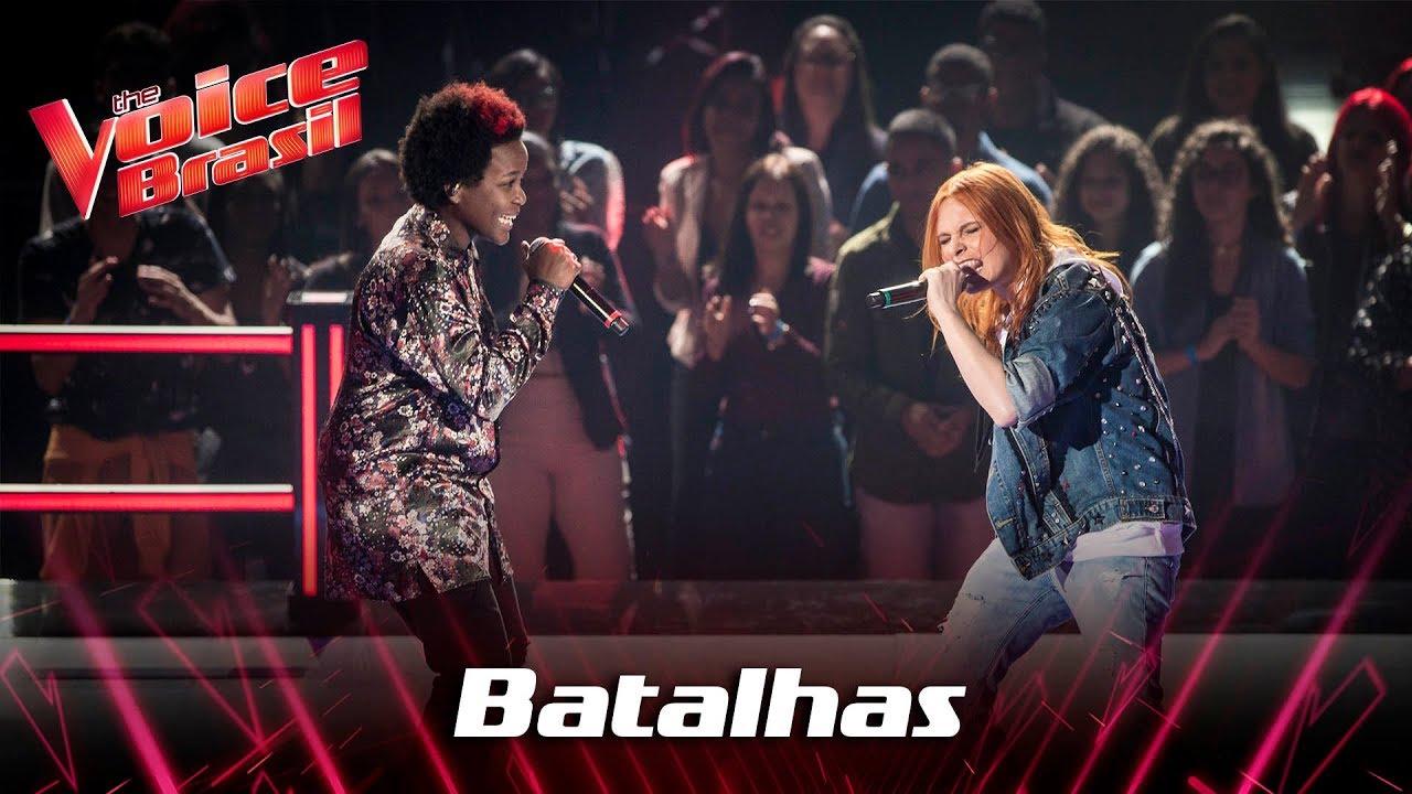 Priscila Tossan e Tamara Angel cantam 'Tudo Que Ela Gosta de Escutar' nas Batalhas - The Voice Br