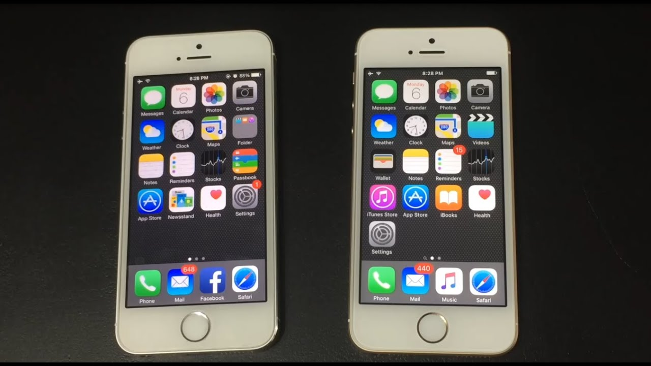 find my iphone 5s iphone 5s ios 8 vs iphone se ios 9 4688