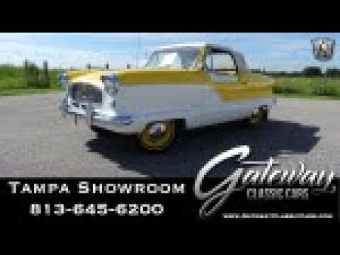 1961 Nash Metropolitan- Gateway Classic Cars of Tampa #1576