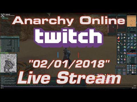 Anarchy online Live Stream 3/01/2018 -D.I.O Run