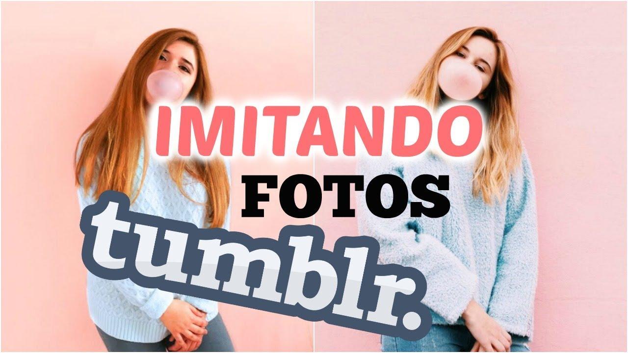 Imitando Fotos Tumblr En Casa