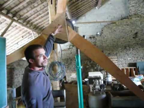 Apprendre fabriquer une olienne a p riple en la demeure limerl belgiqu - Fabriquer une eolienne ...