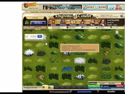 Kingdoms of Camelot Tutorial Part 2- Second City Time!!