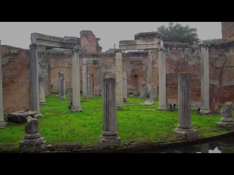 "Tivoli, Italy - Hadrian's Villa - ""Maritime Theatre"""