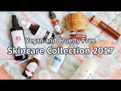 Skincare Collection 2017 | Vegan and Cruelty Free