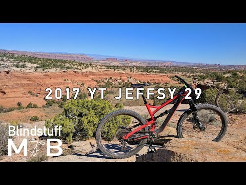 YT Jeffsy 29 ( 27 comparison) Test Ride Review | Mag 7, Moab, UT from YouTube · Duration:  16 minutes 54 seconds