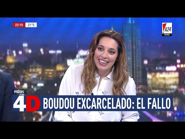 4D | CUATRO DÍAS - BOUDOU EXCARCELADO