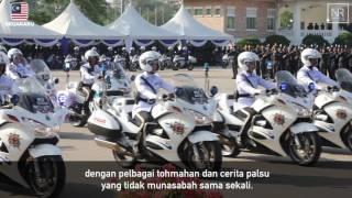 Najib Razak : Perbarisan Sempena Peringatan Hari Polis Ke 210 Tahun 2017 25 Mac 2017
