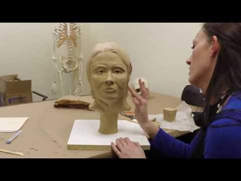 Facial Reconstruction Time Lapse