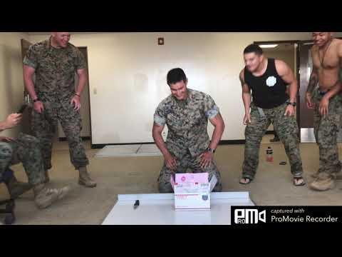 2/8 Marine Gender Reveal!!!!!