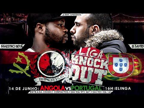 """#RRPL Apresenta Maestro Beya VS El Sayed """"Angola VS Portugal"""" VÍDEO OFICIAL"""