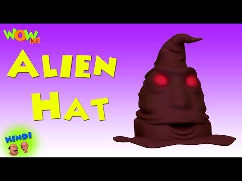 Motu Patlu Cartoons In Hindi   Animated Series  Alien Hat  Wow Kidz