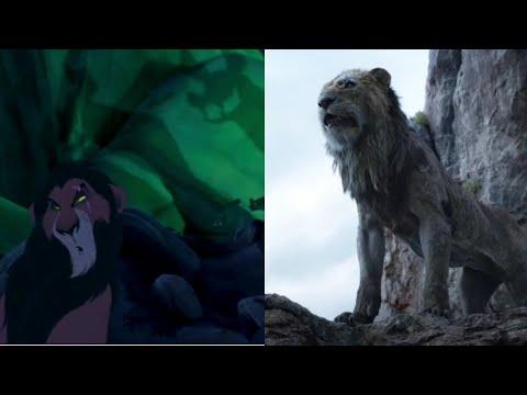 Король лев:Шрам рассказывает о смерти Муфасы и Симбы.1994/2019.