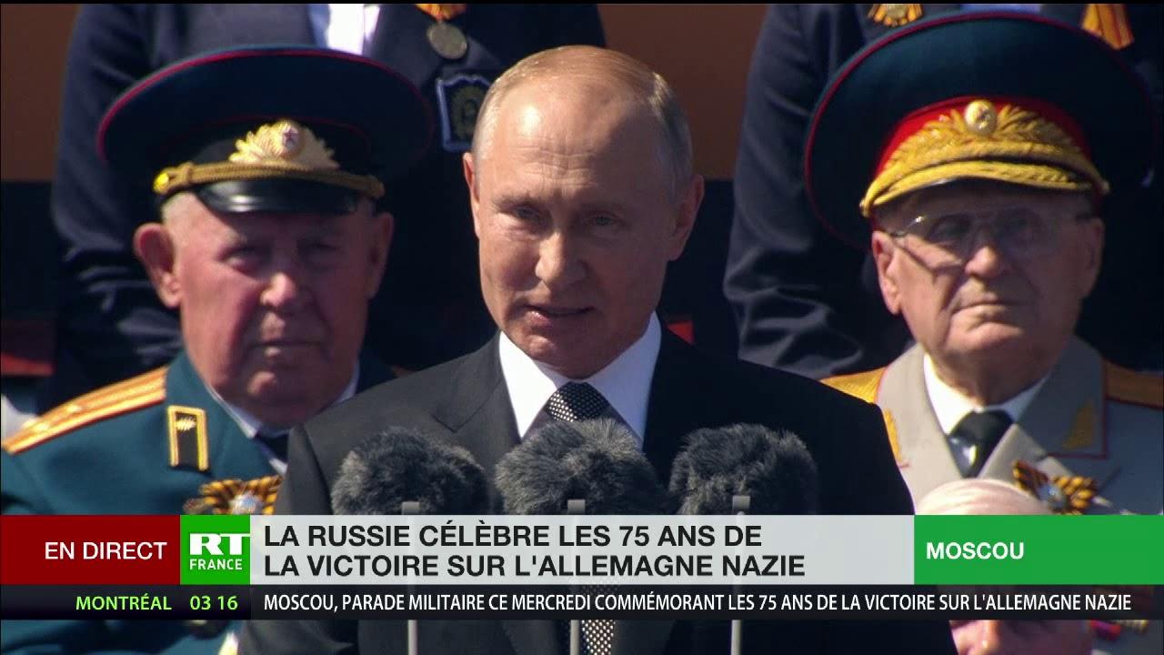 Défilé de la victoire : discours de Vladimir Poutine à Moscou