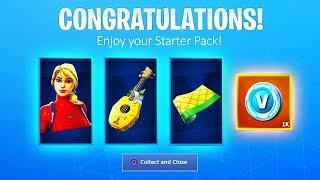 *New* How to Get STARTER PACK 6 in Fortnite! (Laguna Starter Pack)