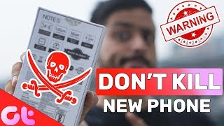 6 Things YOU SHOULD NEVER DO on your NEW PHONE! | GT Hindi